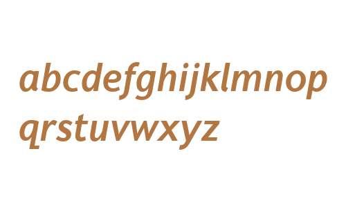 Fiendstar W01 Semibold Italic