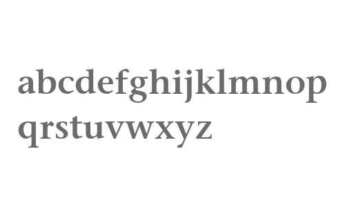 Stone Serif ITC Semi