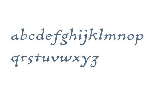 CarlinScript LT W01 Italic