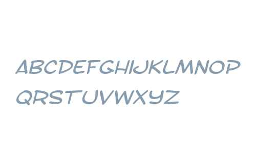 SF Toontime Extended Italic V1