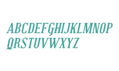 SF Covington SC Bold Italic