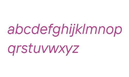 TT Interphases Var Italic