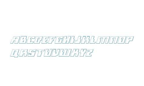 Micronian 3D Italic