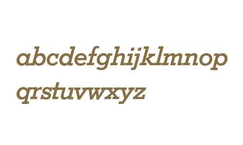 Stymie Bold Italic