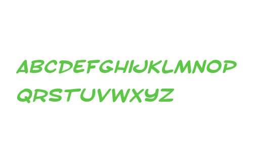 SF Toontime Extended Bold Italic V2