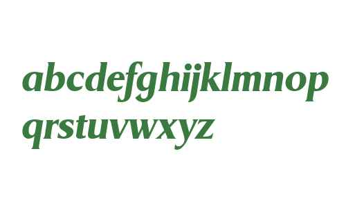 Griffon Extrabold Italic