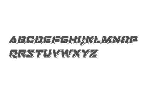 Domino Jack Punch Italic Italic