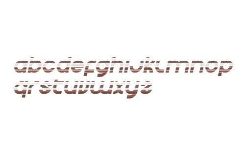 Echo Station Gradient Italic