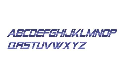 Alien Encounters Bold Italic V2