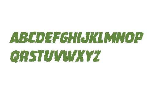 Howlin' Mad Mangled Italic