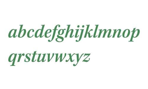 Kepler Std Semibold Semicondensed Italic