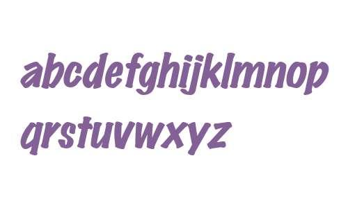 MarkingPenHeavy Italic