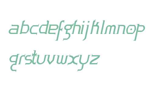 Zoloft Bold Italic