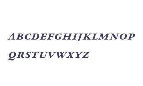 ITC N Winchester W01 Bd It SC
