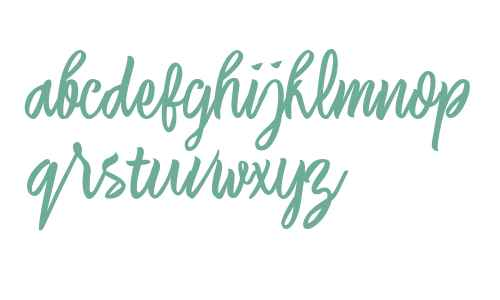 Laksana Typeface Italic