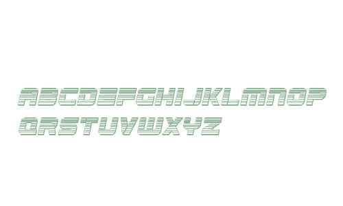 Edge Racer Chrome Italic