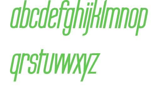 Labtop Secundo Bold Italic V2