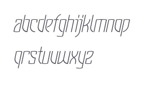 KomuniqueLight Italic W00 Rg