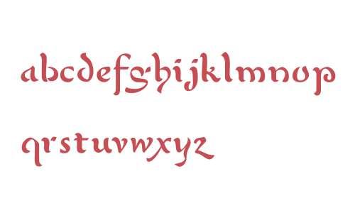 P22 Mystic Font W00 Regular