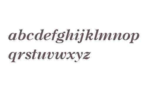 Century OS MT W04 Bold Italic