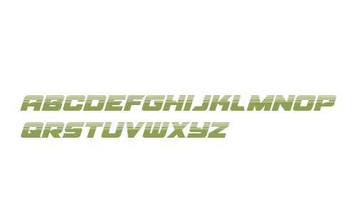 Aircruiser Halftone Italic