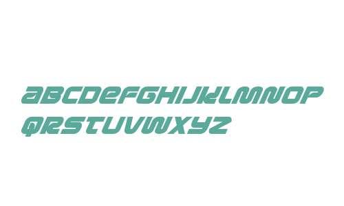 Metronauts Super-Italic