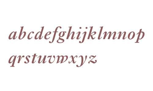 Ehrhardt MT SemiBold Italic