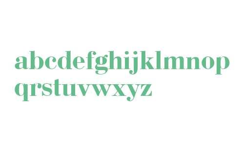 Bodoni Bold Cyrillic