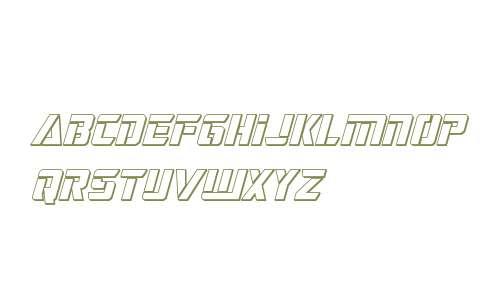 Deceptibots 3D Italic