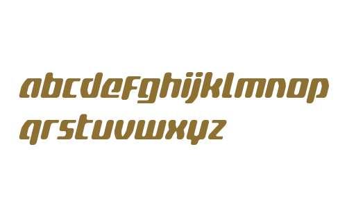 Delta Phoenix Condensed Italic