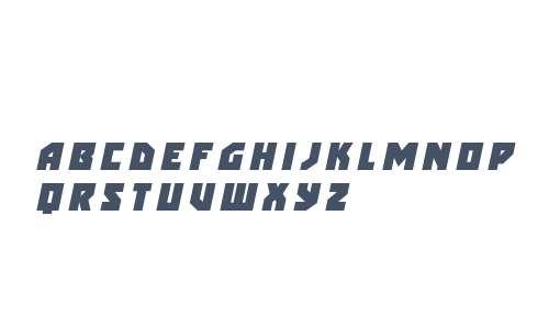 Arctic Guardian Title Italic