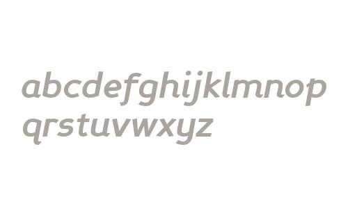 Perspective Sans Bold Italic V1