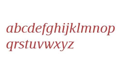 Delima MT W04 Italic