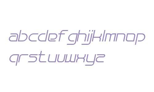 Bauhau Italic W00 Regular