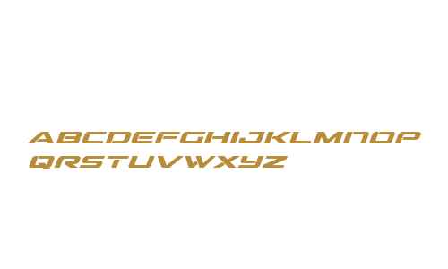 Outrider Semi-Condensed Bold It Semi-Condensed Bold Italic