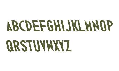 Ano Bold W00 Wide Back Italic