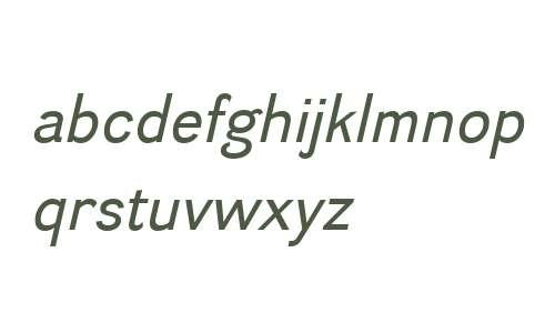 Divulge W00 Italic