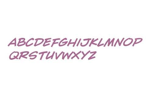 CCWallScrawler W00 Bold Italic