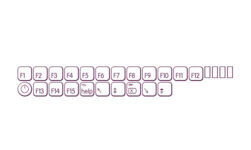KeysMACEAltD W90 Regular