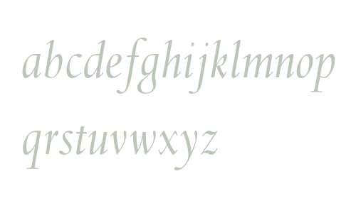 Spectrum MT Std Italic
