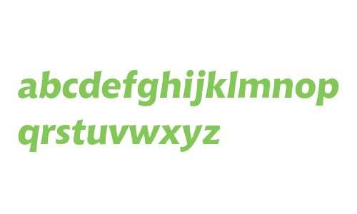 Bitstream Chianti Extra Bold Italic