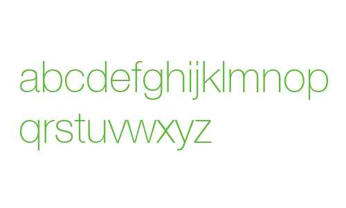 HelveticaNeue Thin