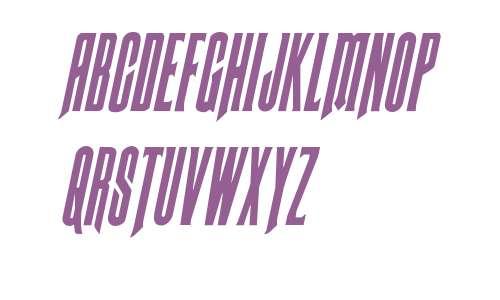 Butch & Sundance Condensed Italic