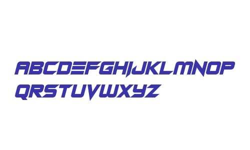 Android Assassin Italic