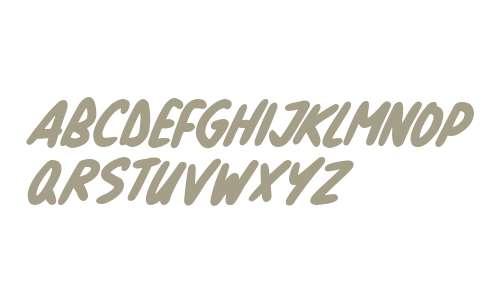 Natural Marker Italic