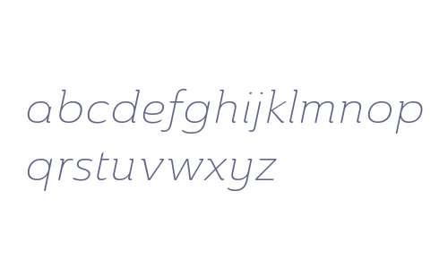 Ainslie W01 Ext Light Italic V1