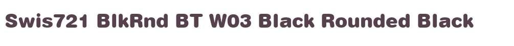 Swis721 BlkRnd BT W03 Black