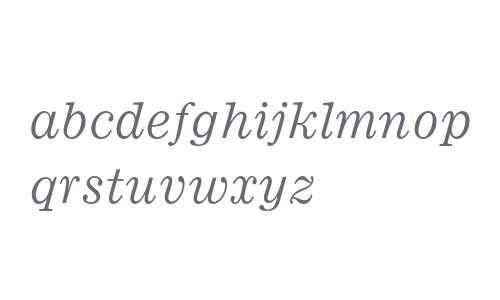 Ionic MT Std Italic