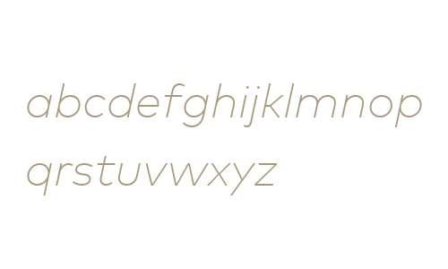 Mark Web W04 Extlight Italic