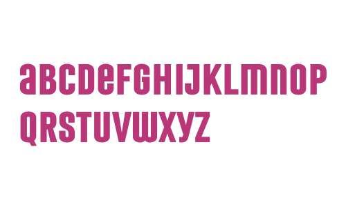 Laqonic 4F Unicase Bold